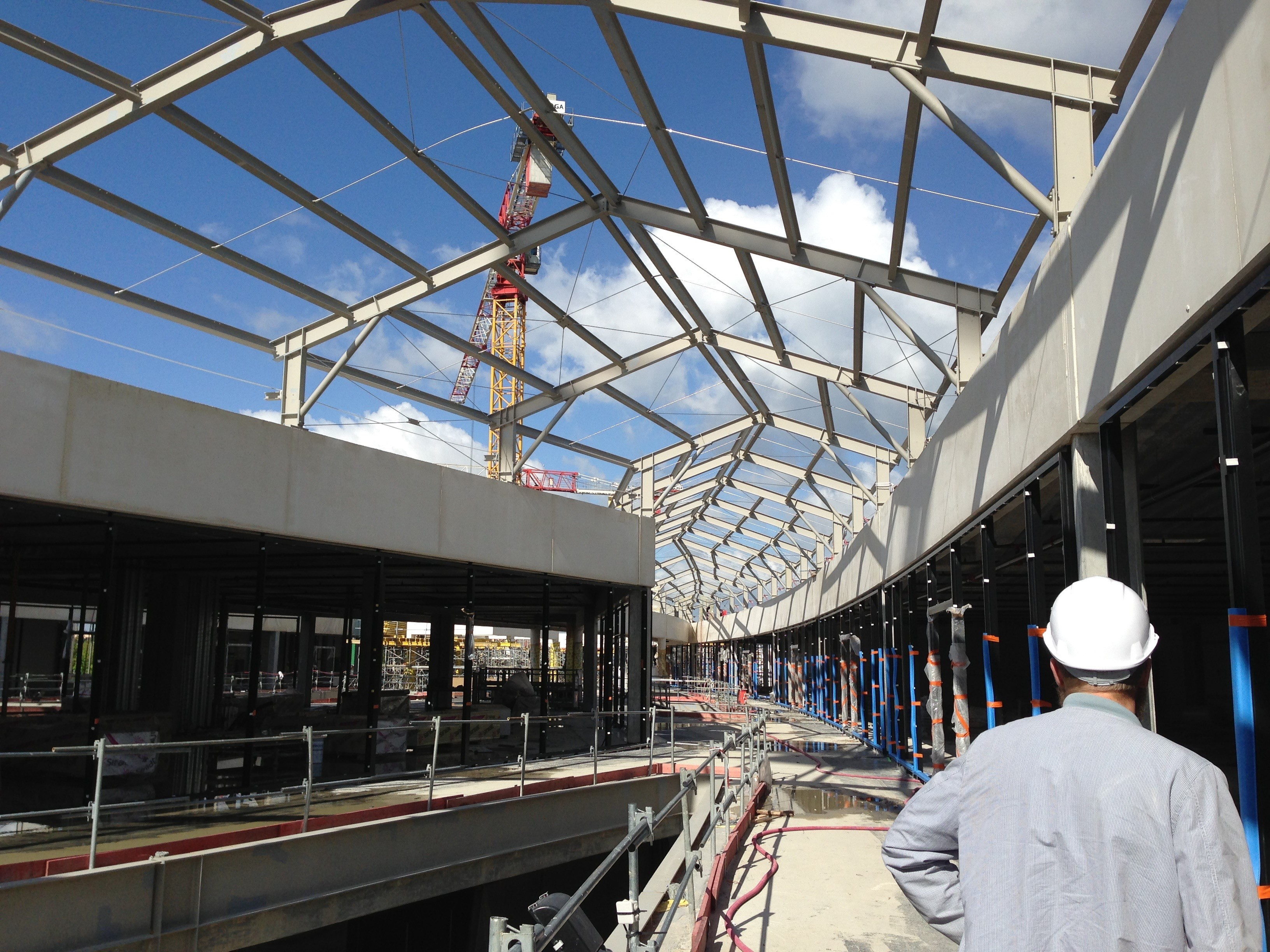 Centre commercial One Nation - chantier
