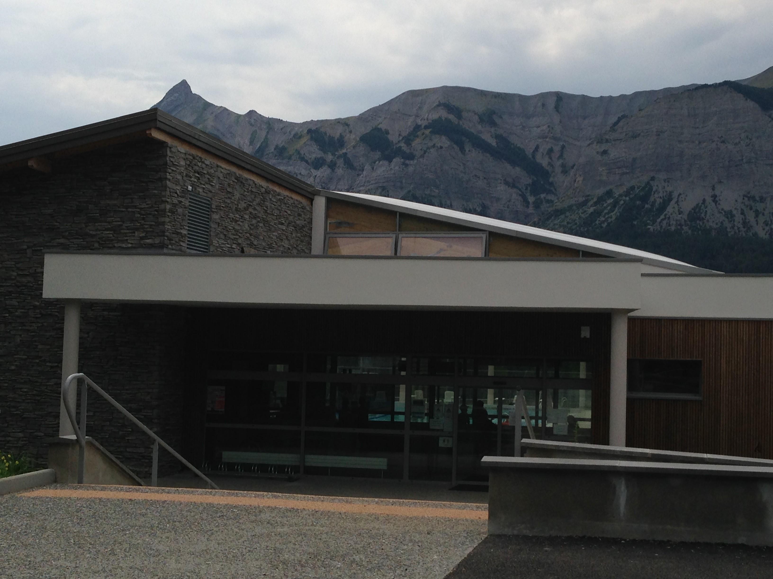 Centre Aquatique St Bonnet - entrée