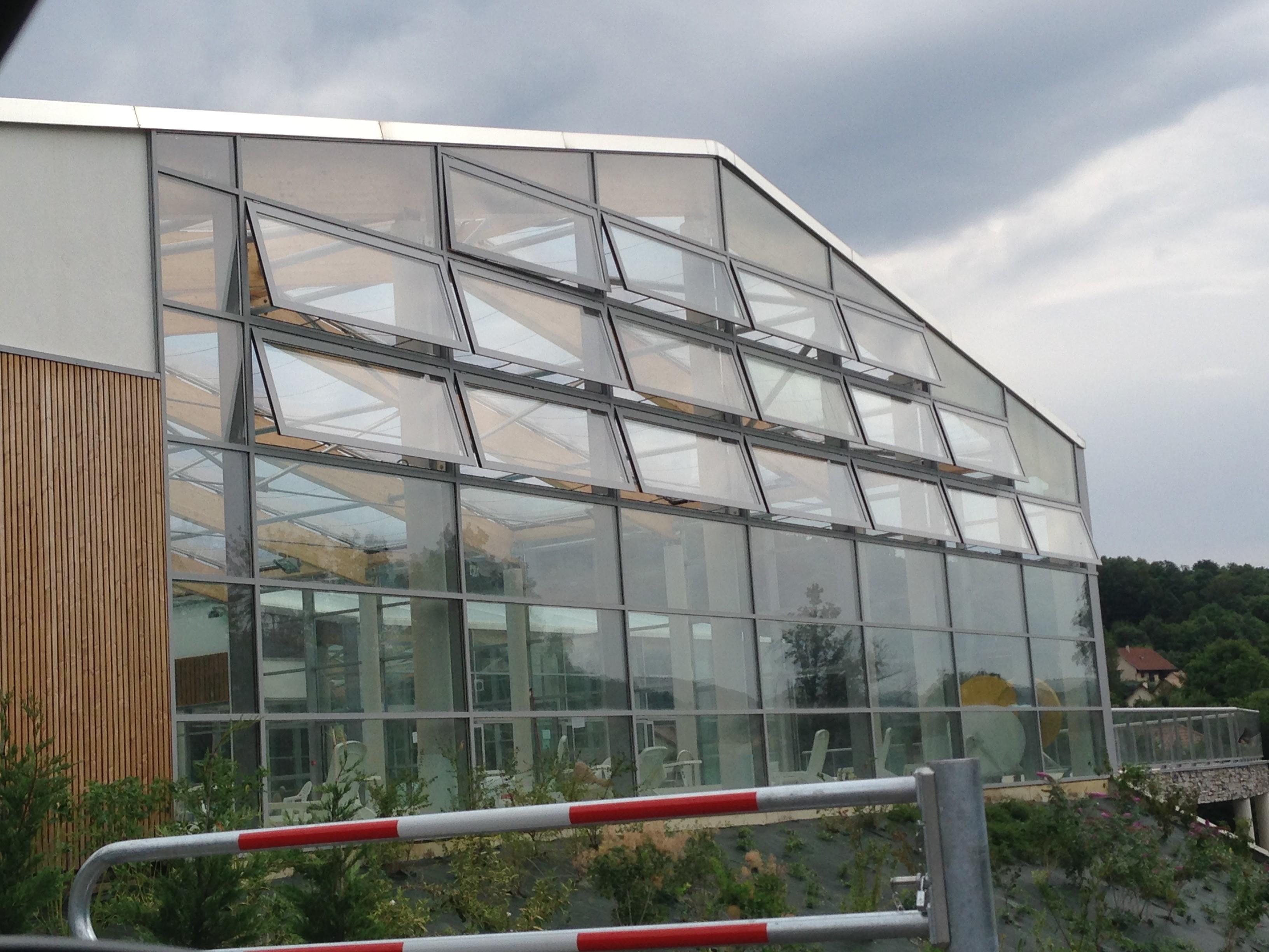 Centre Aquatique St Bonnet - volet extérieur