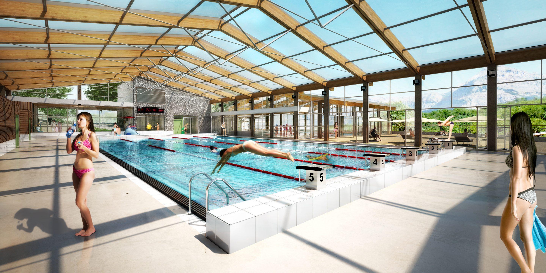Centre Aquatique de Saint-Bonnet-en-Champsaur, Conception