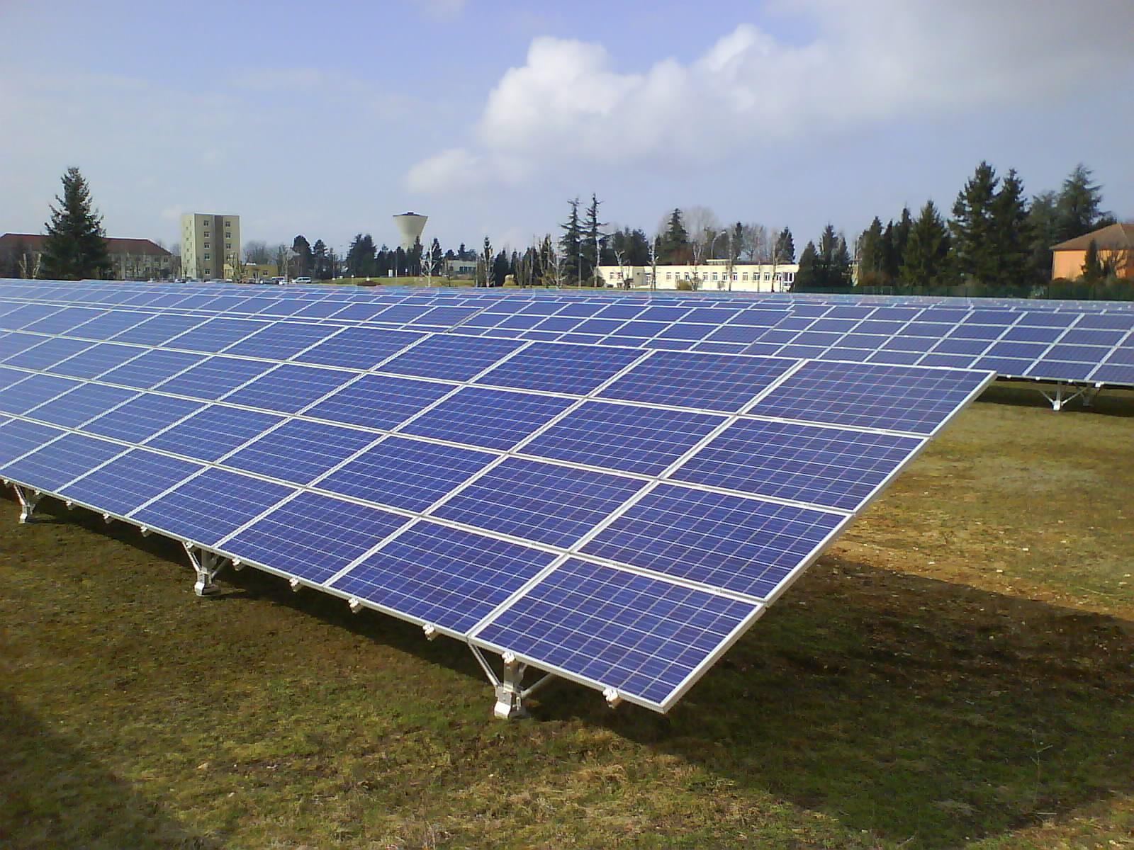 Centrale solaire de Sourdun (77)