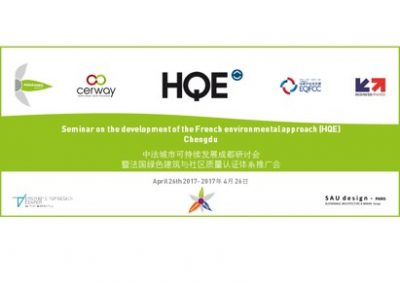 Conference on the development of the French environmental approach (HQE) in Chengdu