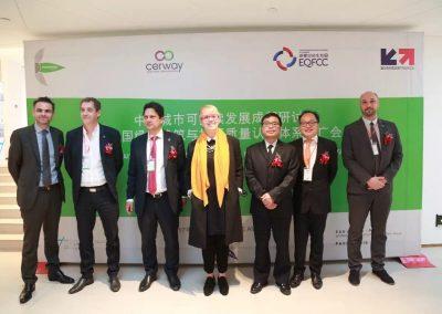 Engouement des acteurs du bâtiment chinois autour de la HQE lors de la conférence de Phosphoris