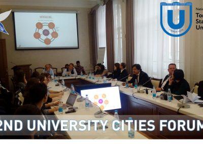 II Форум Университетских городов «Энергия университета для развития города и региона»»