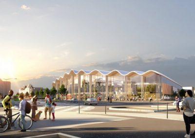 Проектное бюро А.Гарнье, входящее в ГК PHOSPHORIS, примет участие в проектировании водно-развлекательного комплекса в Реймсе