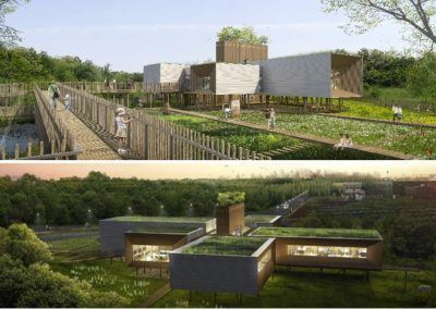 """Winners of the 2016 Grand prix d'aménagement """"building in floodable lands"""""""