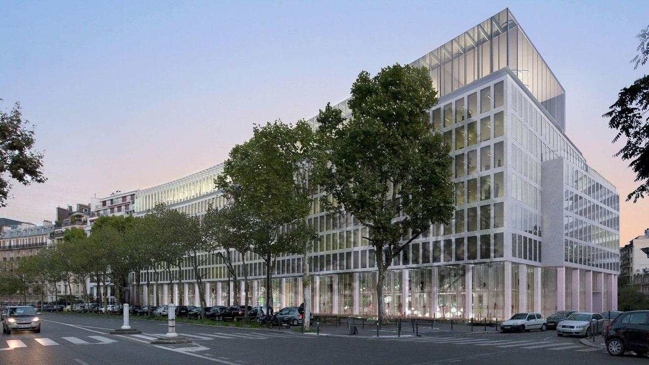 Réhabilitation des Bureaux de l'Amiral Bruix à Paris
