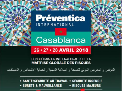 PHOSPHORIS MP Filter will be at Préventica Morocco!