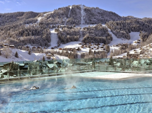 The BE Garnier for the energy efficiency of the La Clusaz Aquatic Center