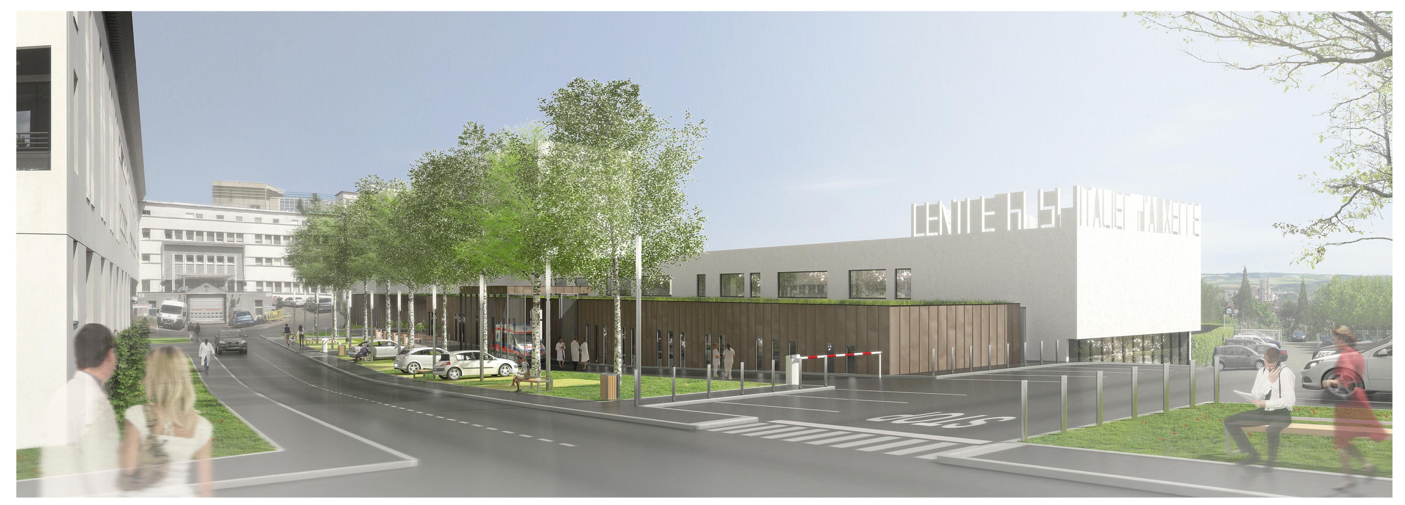 Maitrise d'ouvrage TCE pour le centre hospitalier d'Auxerre