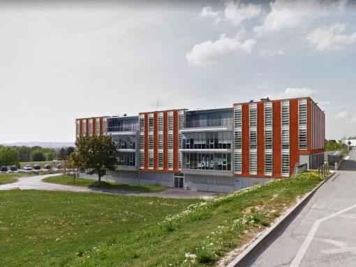 Bâtiment 13 de l'URCA à Reims