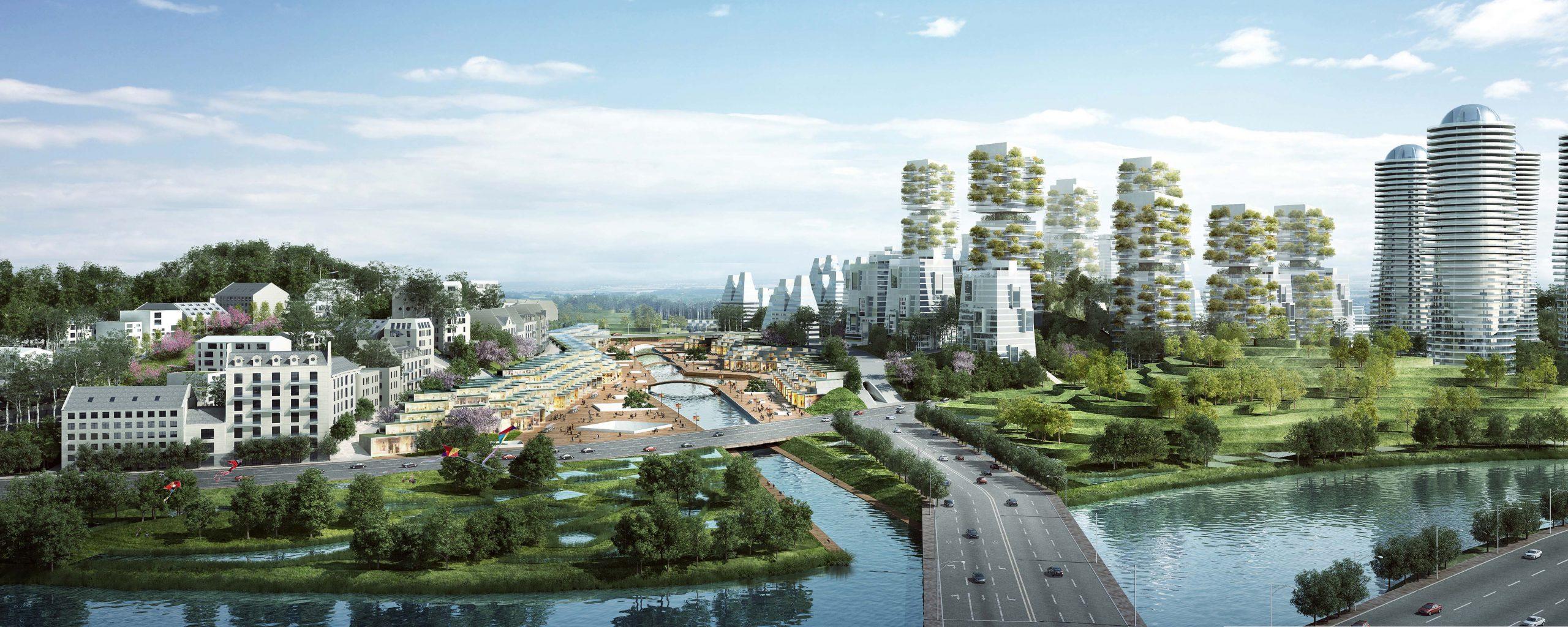 L'écoquartier de TianFu New Area en Chine, par l'Agence Française