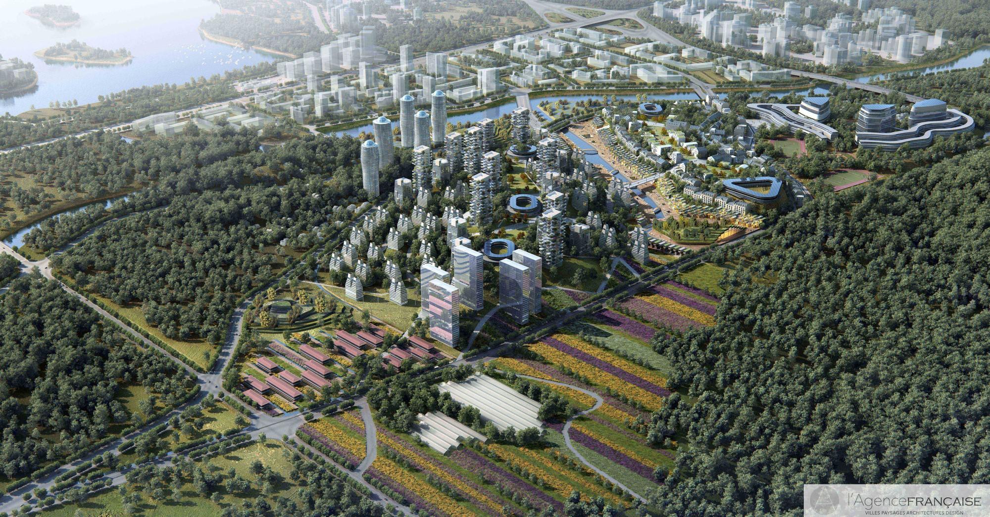 Ville durable : Vallée des fleurs de Chengdu