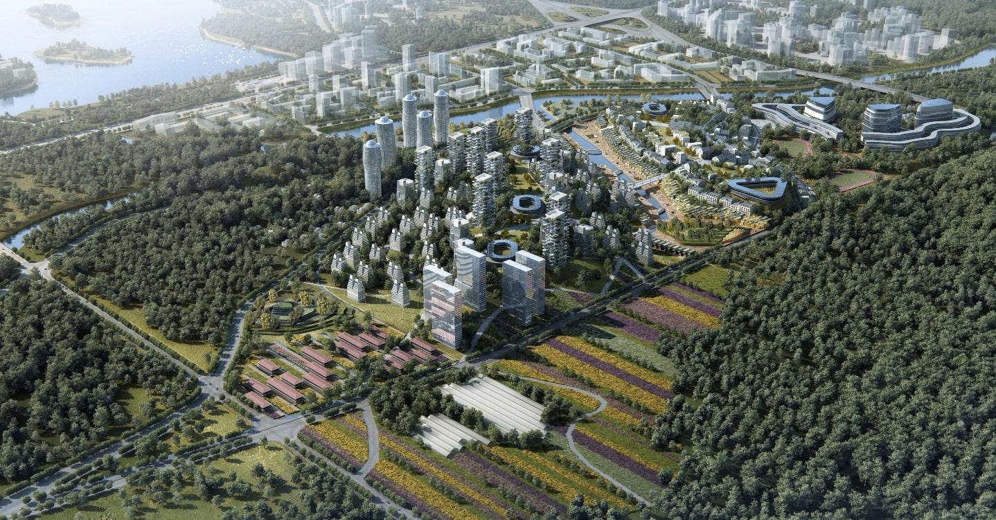 Écoquartier Franco-Sichuanais de Chengdu