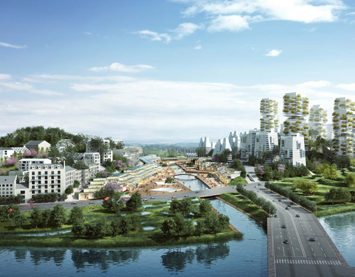 Écoquartier TianFu New Area, Chengdu, Chine