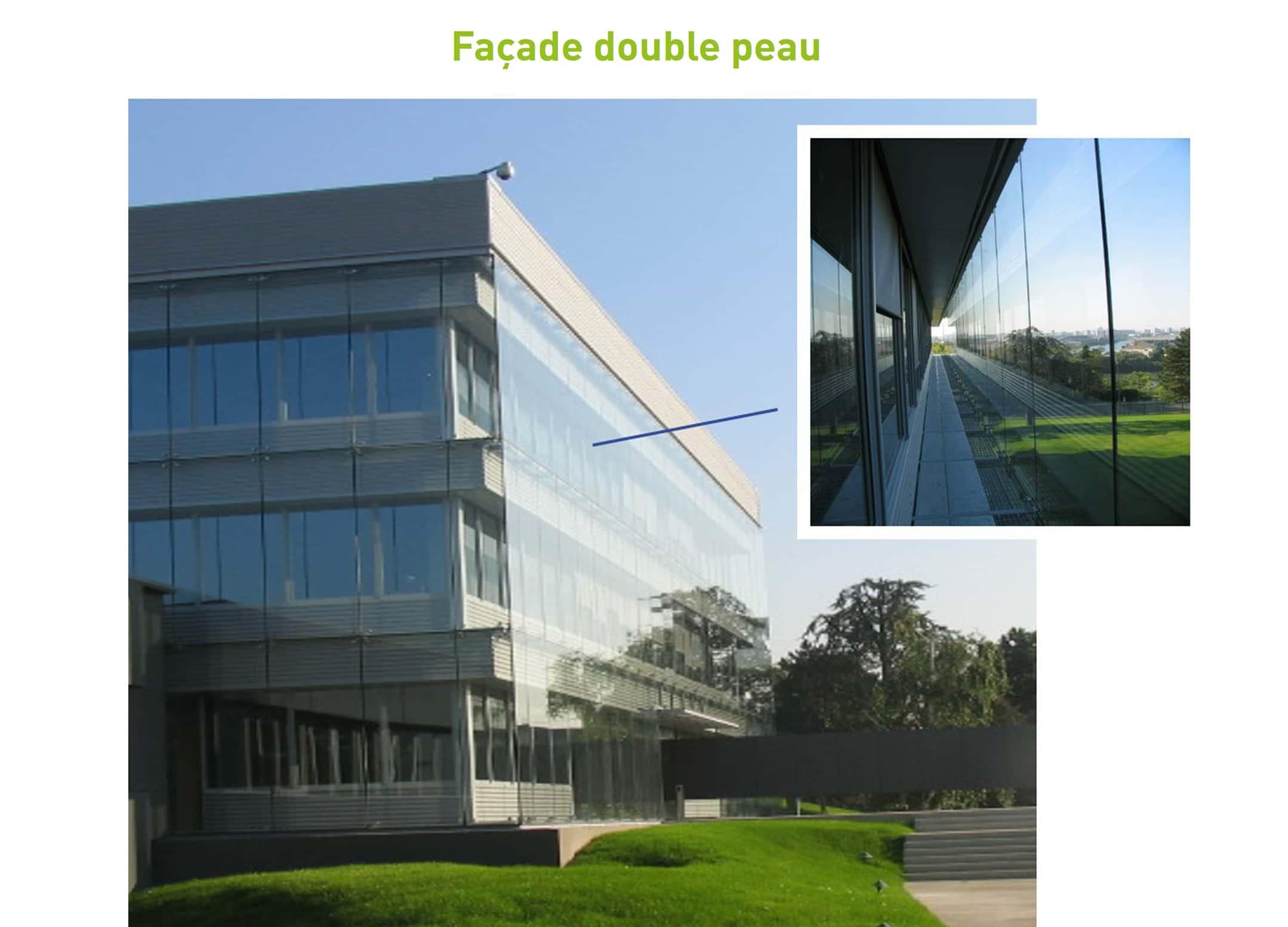 Concept des Façades Double-peau ventilée, Bâtiment Vanille de GIVAUDAN