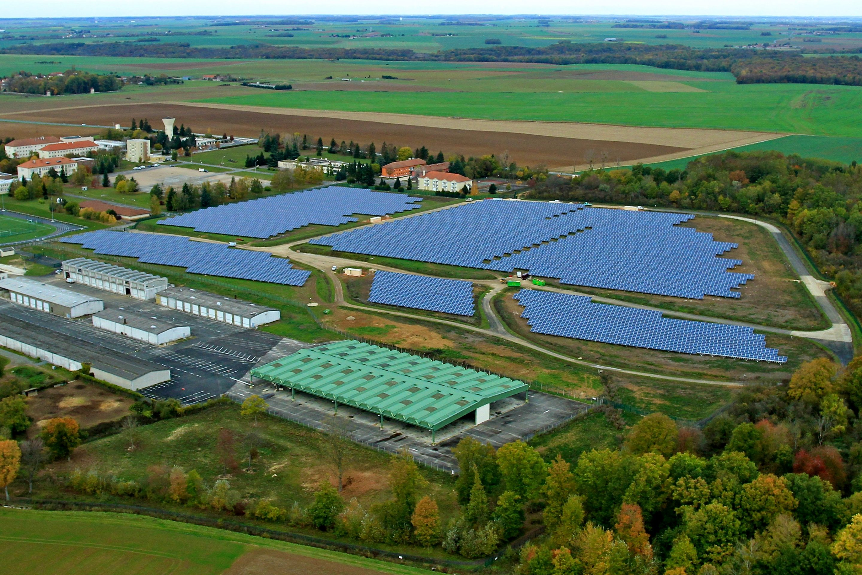 Installation photovoltaïque à Sourdun