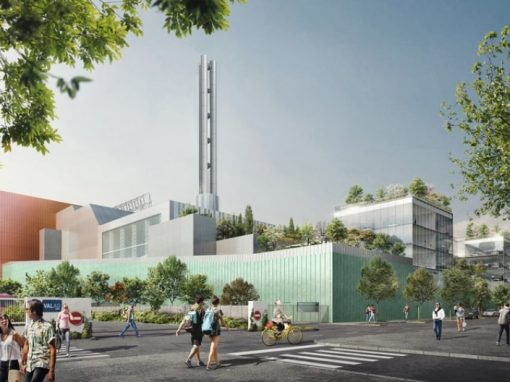 SYCTOM waste treatment plant of Saint-Ouen
