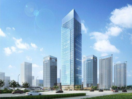 Tour de bureaux HQE à Wuhan, en Chine